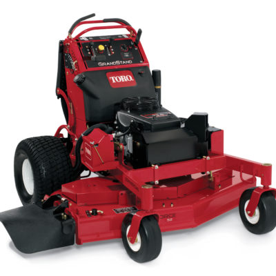 toro grandstand stand on mower